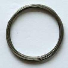Metaaldraad zilver 4m