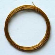 Metaaldraad goud 4m