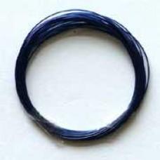 Metaaldraad blauw 4m