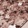 Scrapvel herfstblad bruin