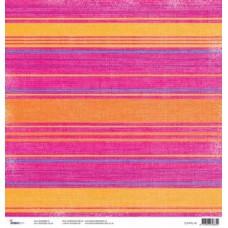 Scrapvel roze strepen