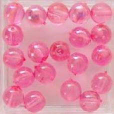 Glaskraal rose 6mm