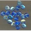 Glaskraal blauw chip