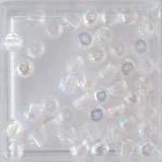 Glaskraal transparant 4mm