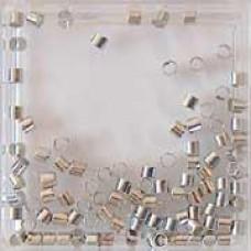 Knijpkralen 2mm zilverkleurig