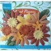 Paper flowers mix Autumn