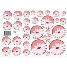 Knipvel Marjoleine cirkels margriet roze