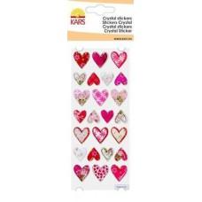 Crystal stickers harten 1