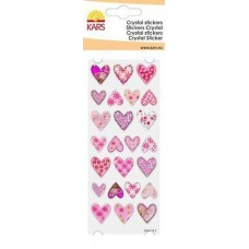 Crystal stickers harten 2