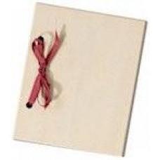 Houten fotoboekje met 10 insteekhoezen
