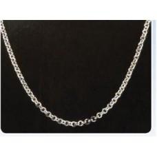 Bijoux ketting 10 rond zilverkleur