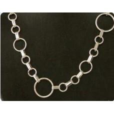 Bijoux ketting 6 zilverkleur