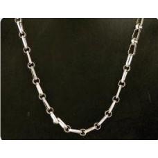 Bijoux ketting 7 zilverkleur