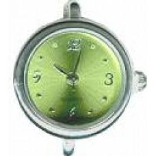 Horloge rond groen