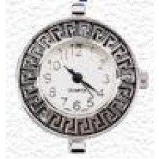 Horloge rond grieks motief