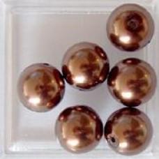 Bruine parel 10mm