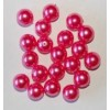 Fuchsia parel 10mm