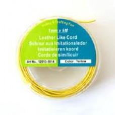 Waxdraad geel