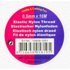 Elastisch nylon 0.5mm
