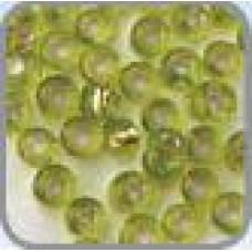 Rocaille zilver kern licht groen