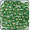 Rocaille zilver kern groen