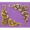Embellishment hoekornament ster 2