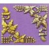 Embellishment hoekornament blad