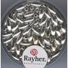 Rayher zilverkalen rijstekorrel 6 x 3mm
