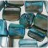 Onregelmatige vorm turquoise