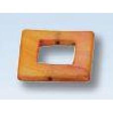 Vierkant bruin
