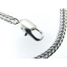 Pandora Style ketting vierkant 18cm