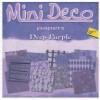 Mini Deco papierblok Deep Purple
