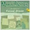 Mini Deco papierblok Forrest Green