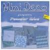 Mini Deco papierblok Powder Blue