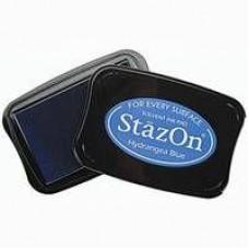 Stempelinkt StazOn Hydrangea Blue