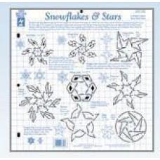 Template Snowflakes & Stars