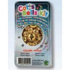 Kattenbelletjes goudkleur