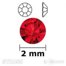 Strass siam 2mm