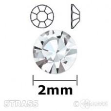 Strass chrystal 2mm