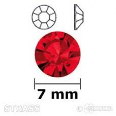 Strass siam 7mm