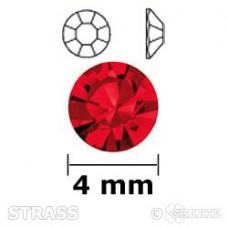 Strass siam 4mm