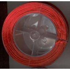 satijnkoord 2mm rood