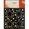 3D ministencil sterren