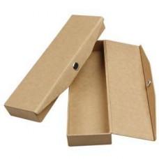 Etui met drukknopsluiting papier maché