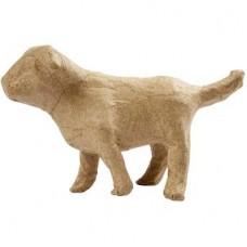 Kleine Hond papier maché