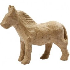 Kleine Paard papier maché