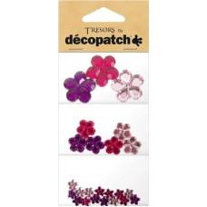 Tresors bloemen paars/roze