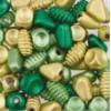 Assortie Acrylkralen 2 groen