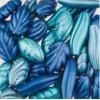 Assortie Acrylkralen 3 blauw