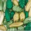 Assortie Acrylkralen 3 groen